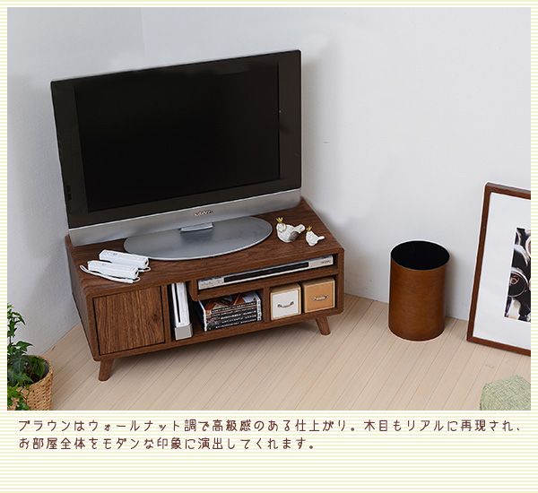 Pico series TV Rack W80...の説明画像3