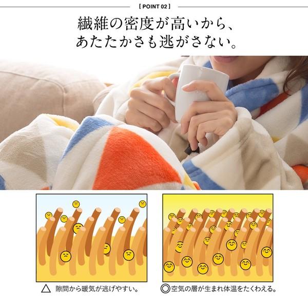 mofua プレミアムマイクロファイバー着る毛...の説明画像6