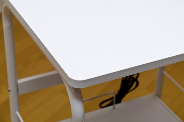 レンジ台(キッチンワゴン) スチール製 幅55...の説明画像5