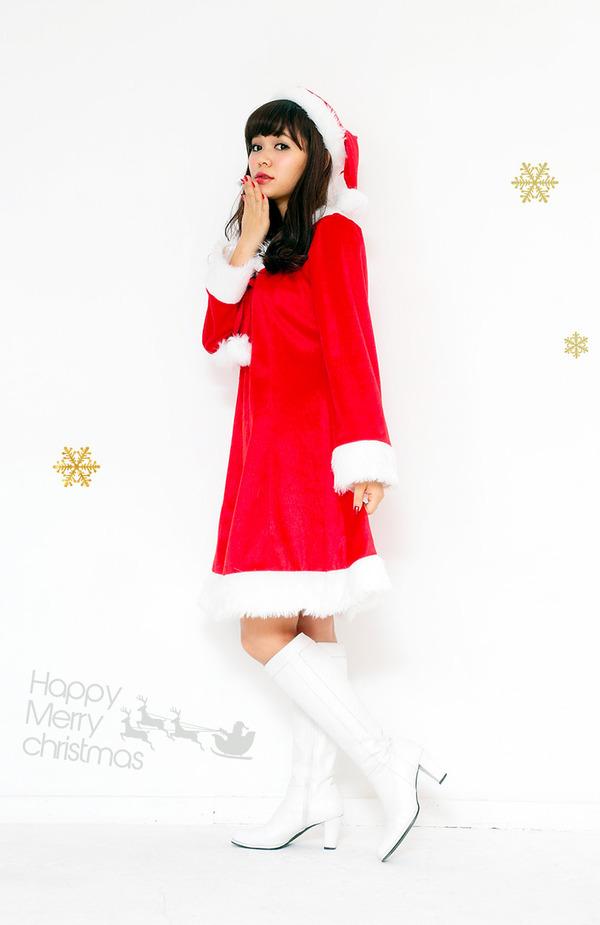サンタ コスプレ レディース まとめ買い 【Peach×Peach  スイートサンタクロース ワンピース (×5着セット) 】 クリスマスコスプレ サンタクロース衣装