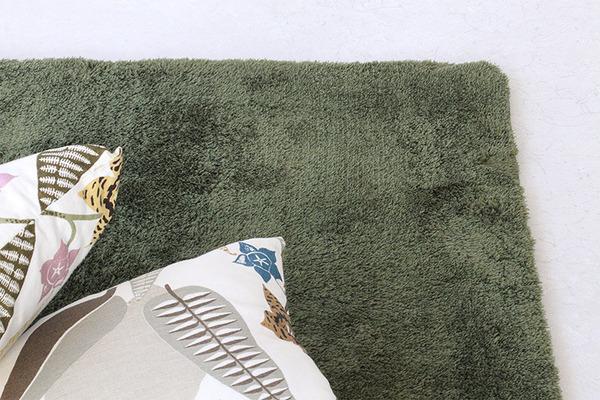 ラグマット 洗える 正方形(140×140c...の説明画像13