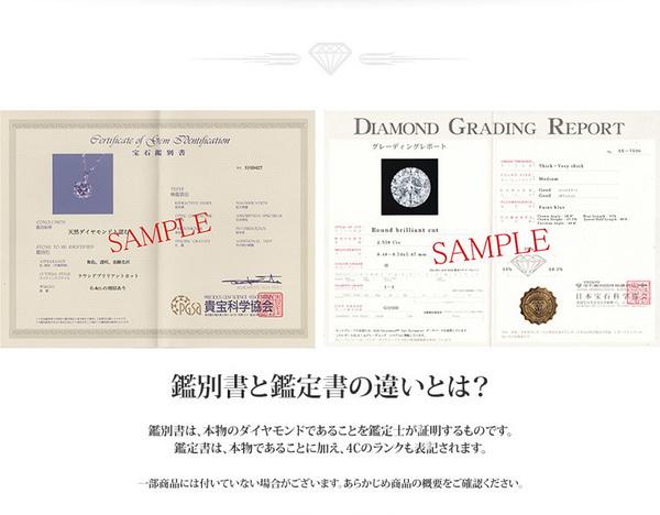 純プラチナ 1ctダイヤモンドペンダント/ネックレス ベネチアンチェーン(鑑別書付き)