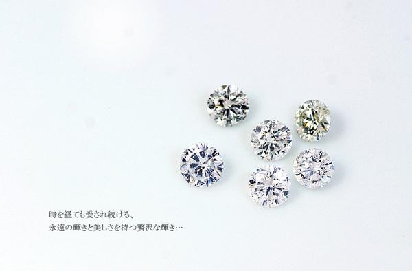 K18WG 0.7ctダイヤモンドペンダント/ネックレス ベネチアンチェーン(鑑別書付き)