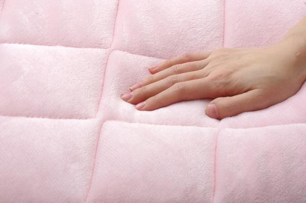 旭化成センイ トップサーモ使用 毛布 敷きパッド 2点セット 洗える 『フランアイズD毛布敷P2点 IT』 アイボリー ダブルサイズ