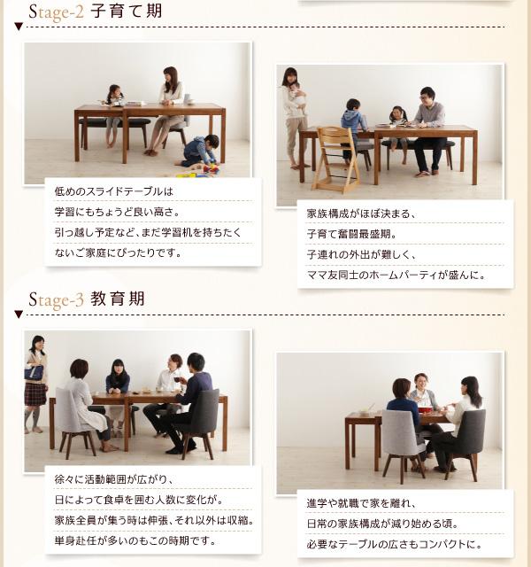 ダイニングセット 9点セット(テーブル+チェア...の説明画像4