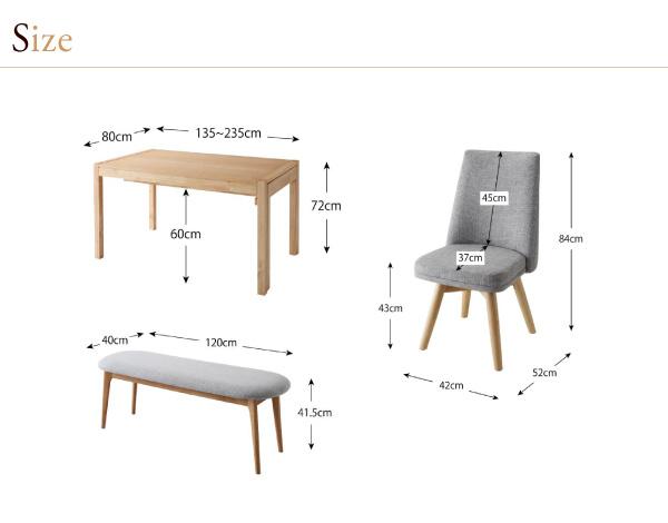 ダイニングセット 9点セット(テーブル+チェ...の説明画像19