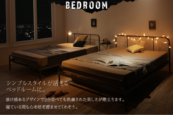ベッド シングル フッドロー【Tiberia】...の説明画像9