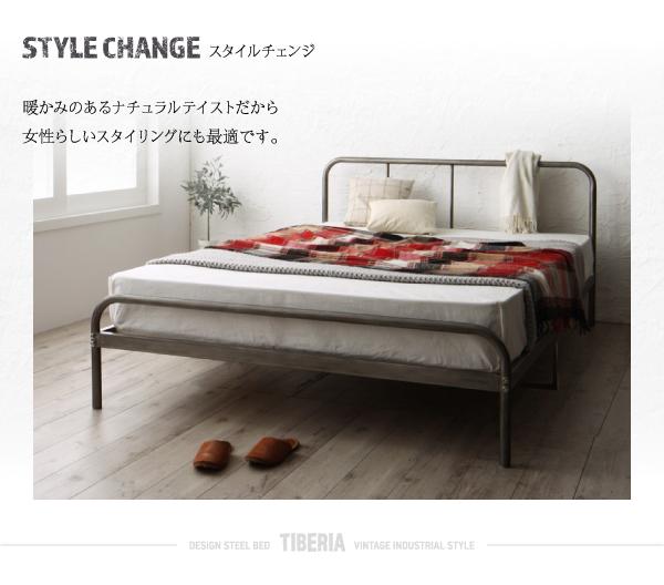 ベッド シングル フッドロー【Tiberia...の説明画像10
