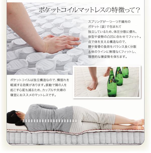 ベッド シングル フッドロー【Tiberia...の説明画像20