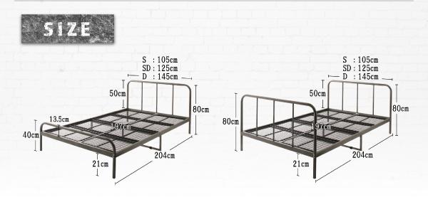 ベッド シングル フッドロー【Tiberia...の説明画像32