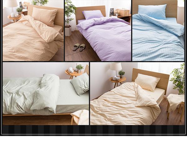ホテルタイプ 布団カバー3点セット (ベッド用...の説明画像3