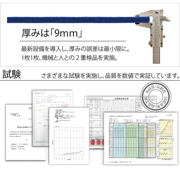 吸音パネル/防音フェルトボード 【30×30c...の説明画像6