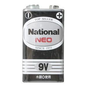 ナショナルネオ黒マンガン乾電池 9V 6F22Y(NB)9V