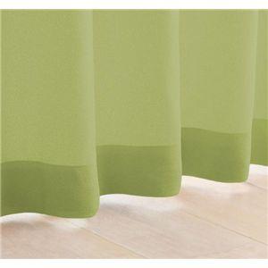 My カラーカーテン 20色 100×200(2枚組) モスグリーン