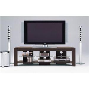 【DIGITAL STATION】TVボード 160W TVボード ダークブラウン