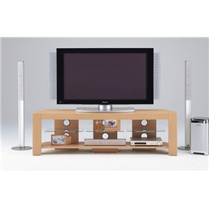 【DIGITAL STATION】TVボード 160W TVボード ライトブラウン