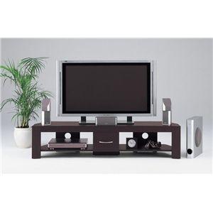 【DIGITAL STATION】TVボード 160W ロータイプ TVボード ロータイプ ダークブラウン