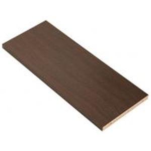 組み合わせ自在!つっぱりオープン本棚 ceiling 連結用棚板 幅60cm ダークブラウン