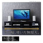 フロアタイプテレビボード【boden】ボーデン ブラック