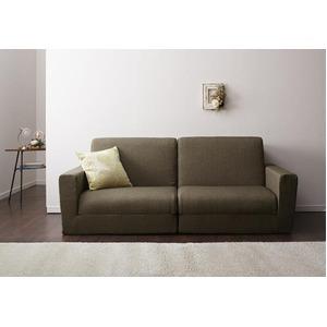 ソファーベッド 190cm【Ceuta】ブラウン ポケットコイルで快適快眠ゆったり寝られるデザインソファベッド【Ceuta】セウタ