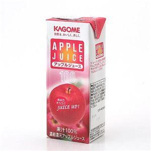 カゴメ フルーツジュース アップル 72本セット