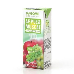 カゴメ フルーツジュース アップル&マスカット 72本セット