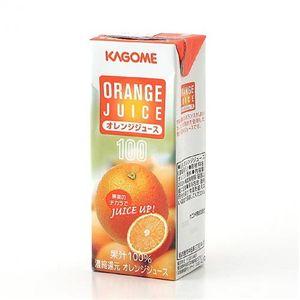 カゴメ フルーツジュース オレンジ 72本セット