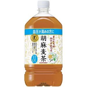 SUNTORY 胡麻麦茶1L×24本セット