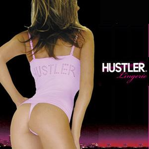 HUSTLER ULTRA SMOOTH CONVERTIBLE CAMI&THONG VIRGIN PINK(薄いピンク) S/M