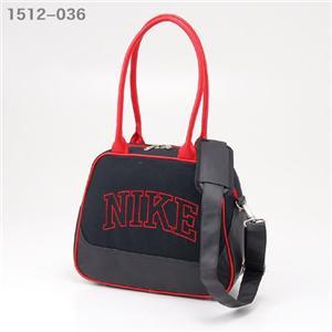 NIKE バッグ 1512-036 ブラック×レッド
