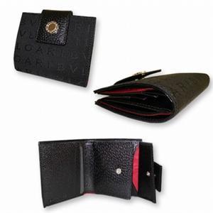ブルガリ 22250 2つ折り 財布 ブラック BVLGARI