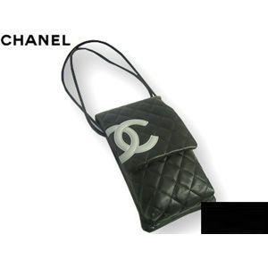 CHANEL(シャネル) A28124BK/GRA カンボンライン ポシェット ブラック×グレー