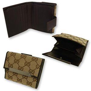 GUCCI (グッチ) 112716-F40IR-9643 Wホック 2つ折り 財布