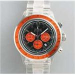 HEB milano(へブ ミラノ) 腕時計 18000ALLS00093 j speed chrono black/orange