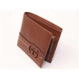 GUCCI(グッチ) 小銭入れ付き二折財布 181688-ADI0N-6338
