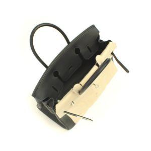 HERMES (エルメス) バッグ バーキン30cm トゴ ブラック シルバー金具