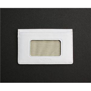 SONNE(ゾンネ)パスケース イントレチャート SOI033/WHT ホワイト