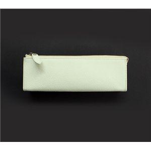 SONNE(ゾンネ)ペンケース グレインレザー SOG034/WHT ホワイト