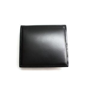 SONNE(ゾンネ)小銭入れ コードバン SOC005/BLK ブラック