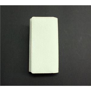 SONNE(ゾンネ)5連キーケース グレインレザー SOG024/WHT ホワイト