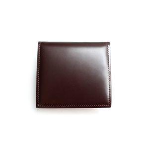 SONNE(ゾンネ)小銭入れ コードバン SOC005/CHO チョコレート