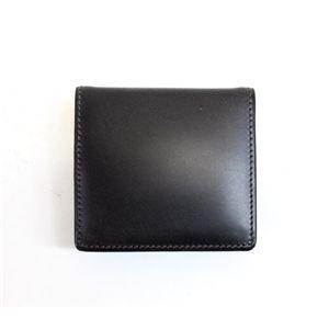 SONNE(ゾンネ)小銭入れ ブライドルレザー SOW005/BLK ブラック