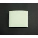 SONNE(ゾンネ)2つ折り小銭入付財布 グレインレザー SOG022/WHT ホワイト