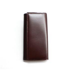 SONNE(ゾンネ)5連キーケース コードバン SOC004/CHO チョコレート