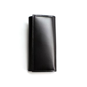SONNE(ゾンネ)5連キーケース コードバン SOC004/BLK ブラック