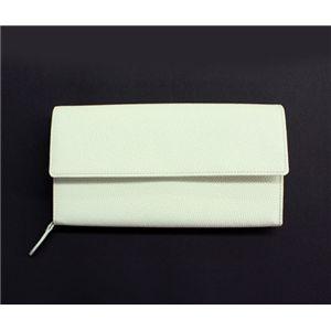 SONNE(ゾンネ)長財布 グレインレザー SOG032/WHT ホワイト