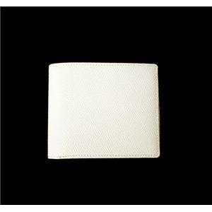 SONNE(ゾンネ)2ッ折財布 グレインレザー SOG030/WHT ホワイト