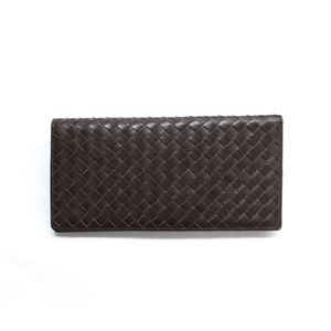 SONNE(ゾンネ)長財布(小銭入れ無し)イントレチャート SOI031/CHO チョコレート
