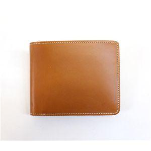 SONNE(ゾンネ)2つ折り財布 ブライドルレザー SOW010/CAM キャメル