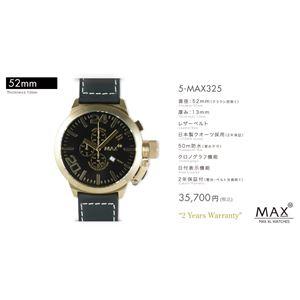 MAX XL WATCH 【マックス ウォッチ】 腕時計 5-MAX325 52mm FACE LINE